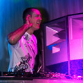 Playing main stage at Godskitchen, Olympic Park, Homebush 2008